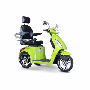 E Wheels EW-36 Elite Powerful Three-Wheel Mobility Scooter - Green - mobility scooter