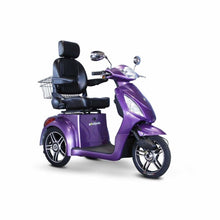 E Wheels EW-36 Elite Powerful Three-Wheel Mobility Scooter - Purple - mobility scooter