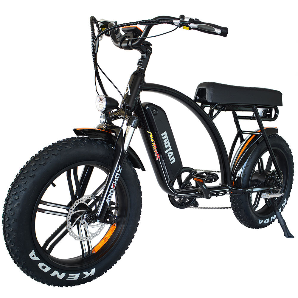 Electric Fat Tire Beach Cruiser Bike Addmotor MOTAN M-60 R7 750 Watt (Retro)