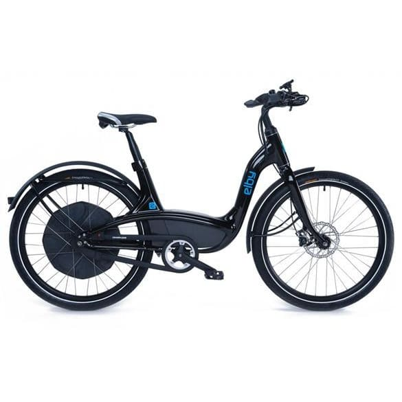 Elby S1 Electric Cruiser Bike E01C - 48V 500W - Black - E01C5G1B99A - electric bike