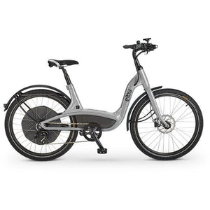 Elby S1 Electric Cruiser Bike E01C - 48V 500W - Silver - ELB E01C4G9B99 - electric bike