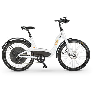 Elby S1 Electric Cruiser Bike E01C - 48V 500W - White - ELB E01C1G9B99 - electric bike
