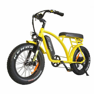 Electric Cruiser Bike Addmotor MOTAN M-60 500W - Fat Tire E-bike - Yellow - electric bike