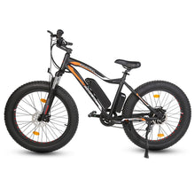 Electric Fat Bike Ecotric Rocket Cruiser Bike with Front Suspension - electric bike