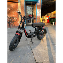 Electric Fat Bike Mini Moped Addmotor MOTAN M-66 R7 Step-Thru - electric bike