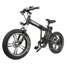 Electric Folding Bike Fat Tire Nakto Mini Cruiser 350W 48V 10Ah - electric bike