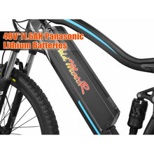 Electric Mountain Bike Addmotor HITHOT H1 Platinum 500W Full Suspension - electric bike