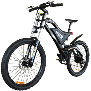 Electric Mountain Bike Addmotor HITHOT H5 500W High Fork Full Suspension - electric bike