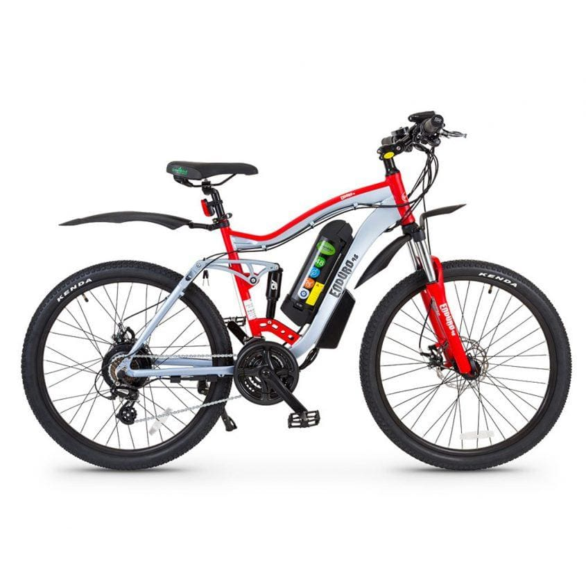 Electric Mountain Bike GreenBike Enduro 48 350W 48V - electric bike