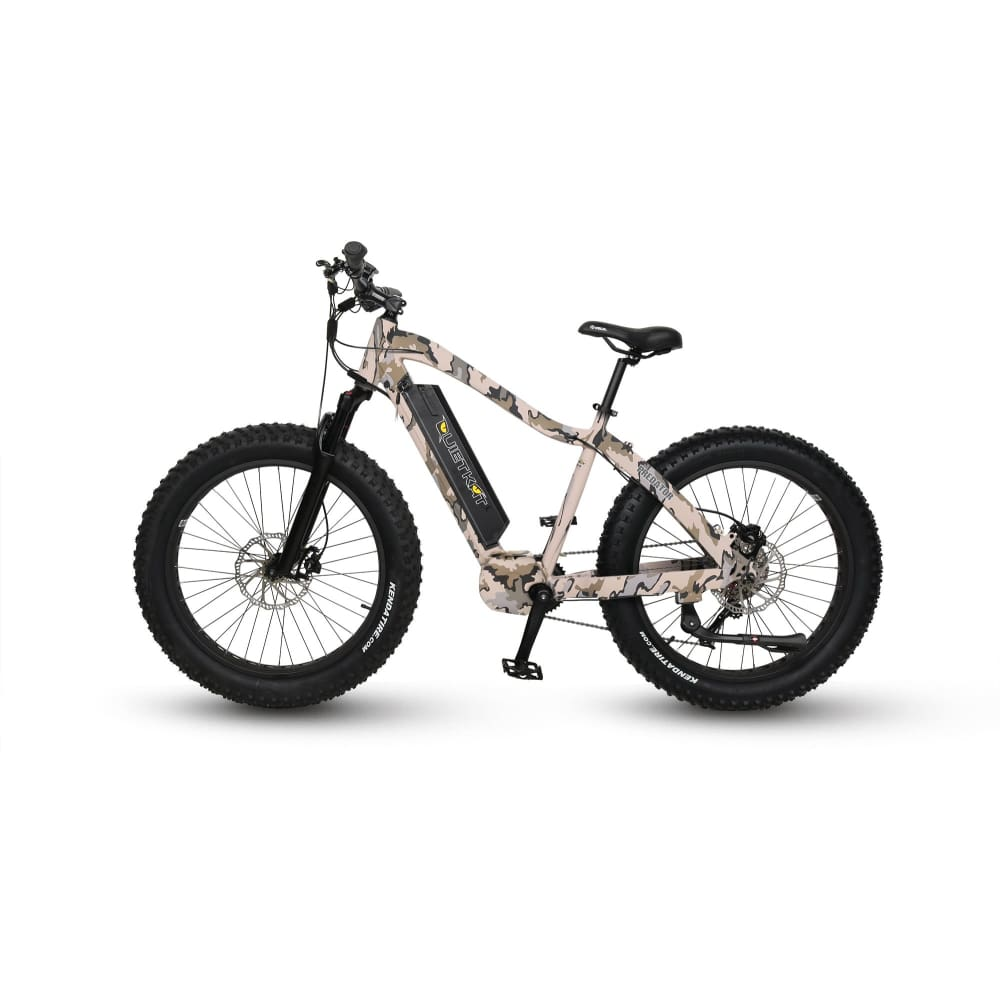 Electric Mountain Bike QuietKat Predator Fat Tire Bike - 750 Watt (2019) - Camo - electric bike