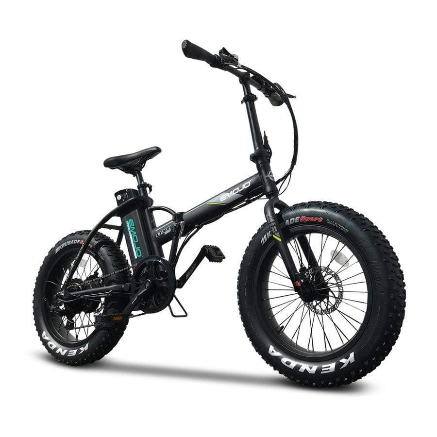 folding electric bike emojo lynx pro 500 watt 48 v fat tire bike electric zip. Black Bedroom Furniture Sets. Home Design Ideas