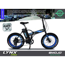 Folding Electric Bike Emojo Lynx Pro 500 Watt 48 V- Fat Tire Bike - Electric Bike $1429.00