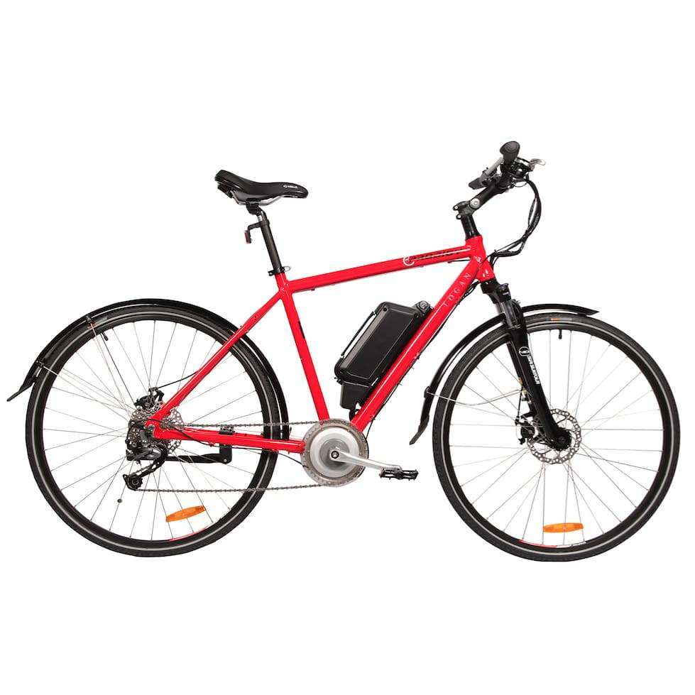 Electric Bike Commuter Eprodigy Logan 750W 48V - Red - Electric Bike $2399.00