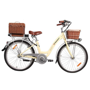 Electric Cruiser Bike Eprodigy Banff 750W 48V - Bf-48V - Ivory - Electric Bike $2399.00
