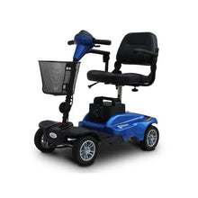 EV Rider MINIRIDER 4 Wheel Mobility Scooter - Metallic Blue - mobility scooter