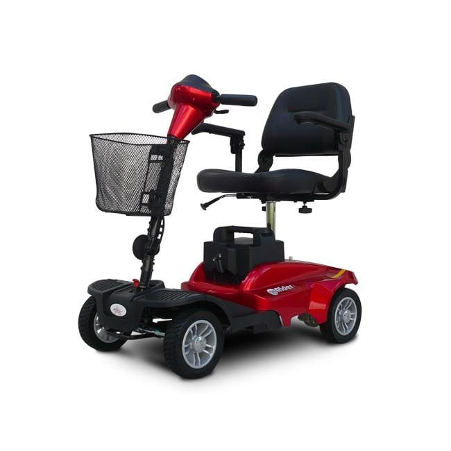 EV Rider MINIRIDER 4 Wheel Mobility Scooter - Metallic Red - mobility scooter