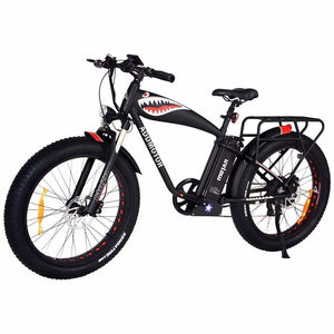 Fat Tire Electric Mountain Bike Addmotor MOTAN M-5500 1000W - Black - electric bike