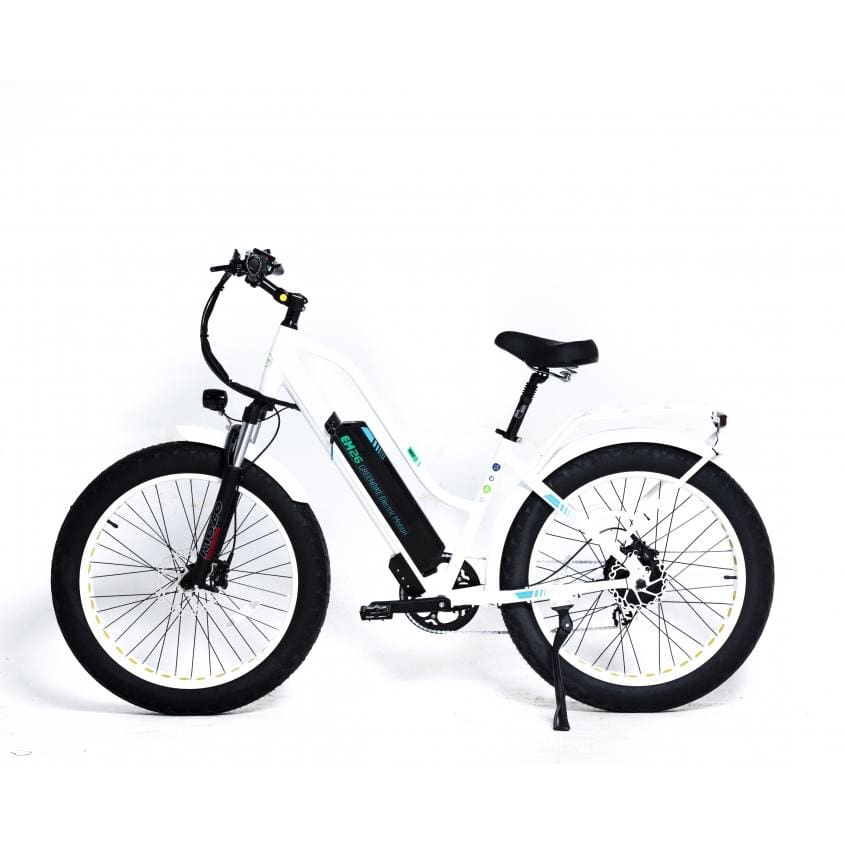 Fat Tire Electric Mountain Bike GreenBike EM26 750W 48V - electric bike
