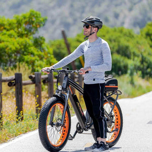 Fat Tires Electric Bike Addmotor MOTAN M-560 P7 750W Front Suspension - electric bike