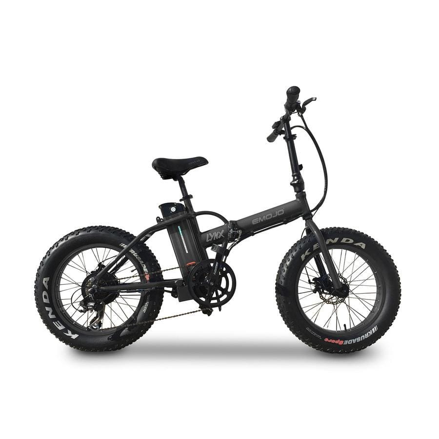 Folding Electric Bike Fat Tire Emojo Lynx - 500W 36V - Black - electric bike