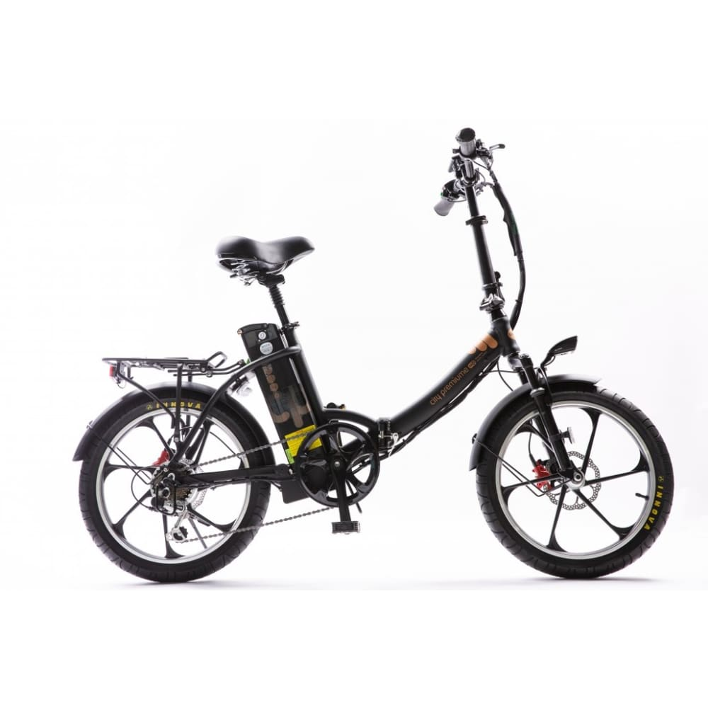 Folding Electric Bike Green Bike City Premium 48V 350W - Fat Tire (2020 Edition) - electric bike