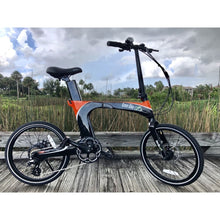 Folding Electric Bike Green Bike USA - GB Carbon Light - 350W 10.5Ah - electric bike