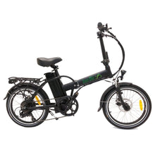 Folding Electric Bike Green Bike USA - GB1 - 500W 10Ah - Black - electric bike