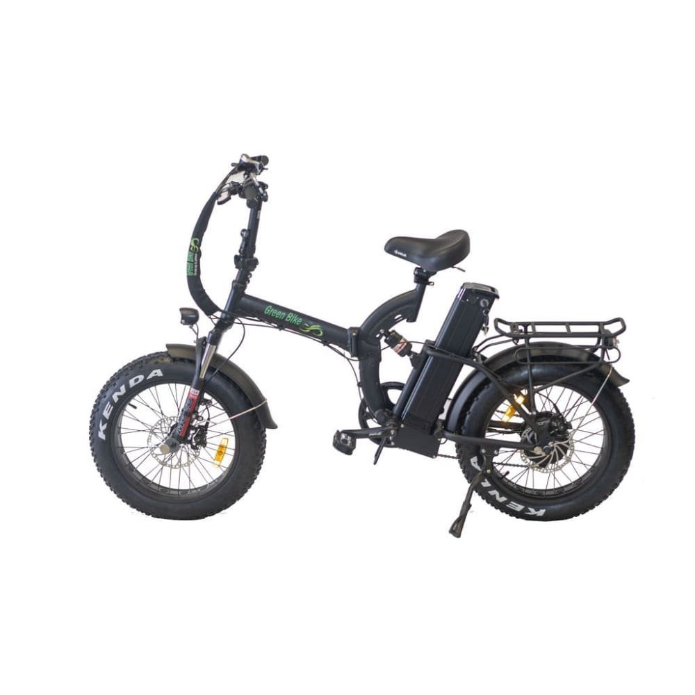 Folding Electric Bike Green Bike USA - GB750 NEXT - 750W 20 Ah - Black - electric bike