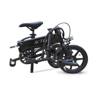 Folding Electric Bike Green Bike Yoko Premium 36V 350W - electric bike