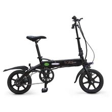 Folding Electric Bike Green Bike Yoko Premium 36V 350W - Black - electric bike