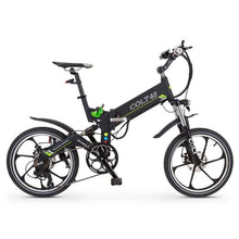 Folding Electric Bike GreenBike COLT 48 350W 48V - Black - electric bike