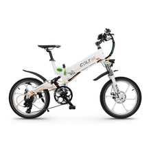 Folding Electric Bike GreenBike COLT 48 350W 48V - White - electric bike