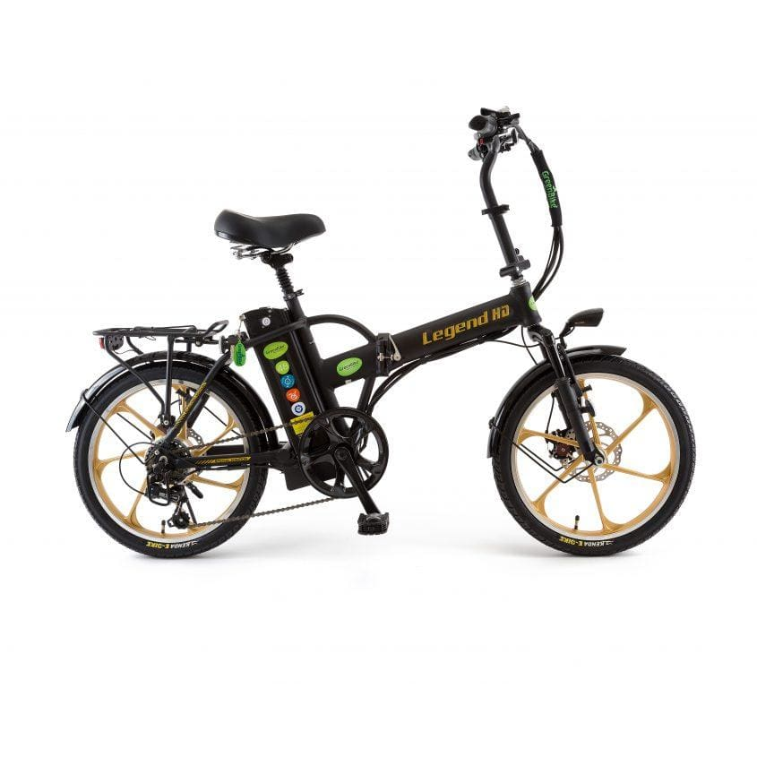 Folding Electric Bike GreenBike LEGEND HD 350W 48V - electric bike