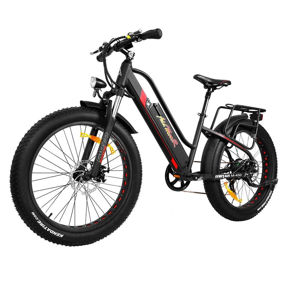 Full Suspension Ebike Addmotor MOTAN M-450 500W Fat Tire Electric Bike - electric bike