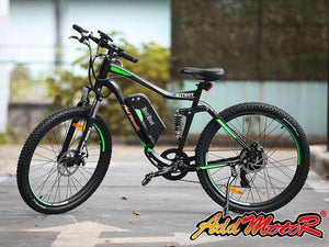 Electric Mountain Bike Addmotor HITHOT H1 500W - Dual Suspension