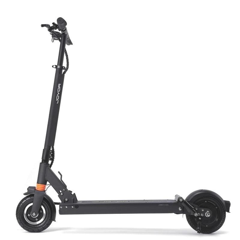 Long Range Electric Scooter - JOYOR F6 - 36.9 Miles (Black/White) - Black / 2-Year Standard Protection Plan (+0) - electric scooters