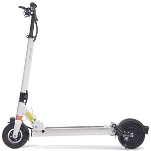 Long Range Electric Scooter - JOYOR F6 - 36.9 Miles (Black/White) - White / 2-Year Standard Protection Plan (+0) - electric scooters