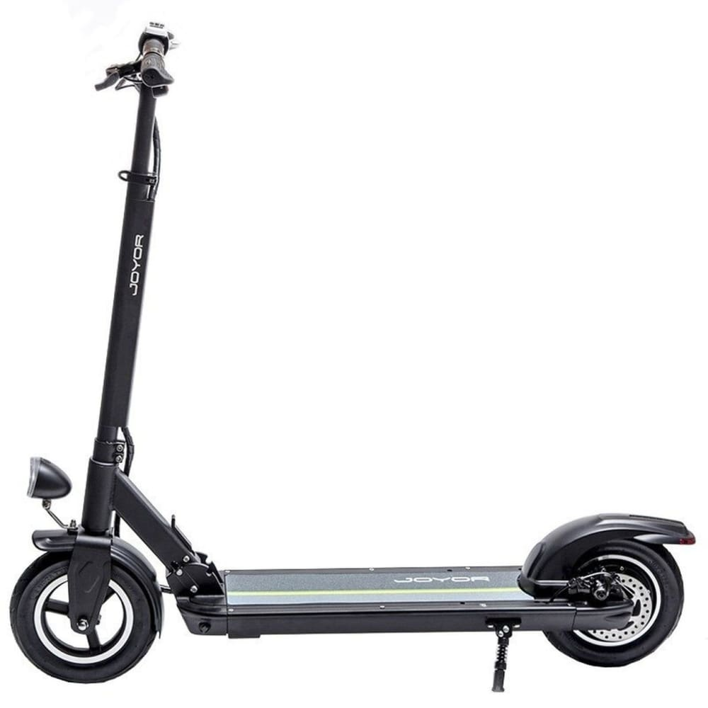 Long Range Electric Scooter - JOYOR X3 - 27.9 Miles (Black/White) - Black / 2-Year Standard Protection Plan (+0) - electric scooters
