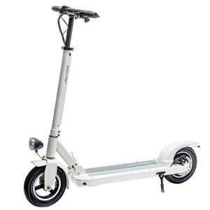 Long Range Electric Scooter - JOYOR X3 - 27.9 Miles (Black/White) - White / 2-Year Standard Protection Plan (+0) - electric scooters