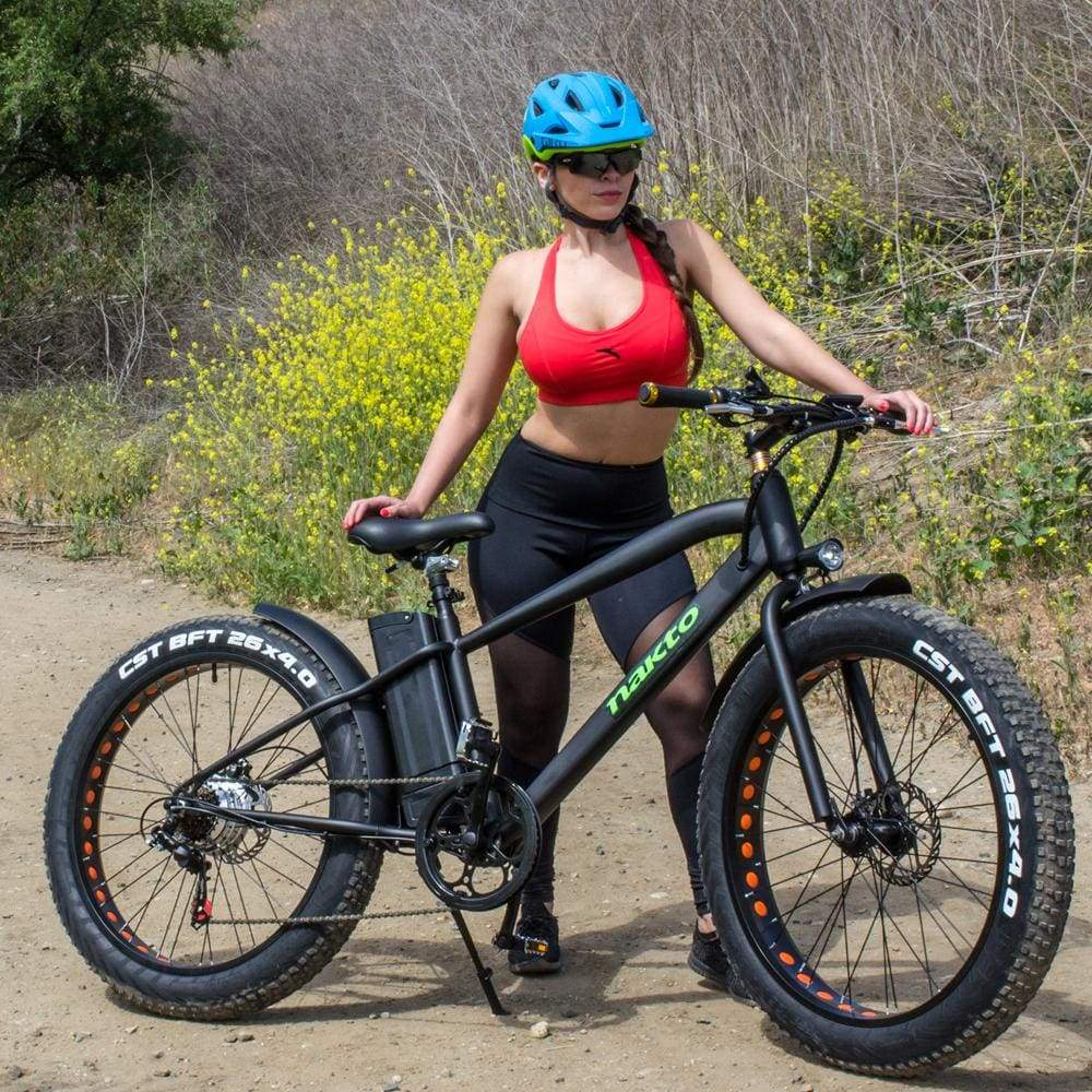 Electric Bike Fat Tire Nakto Cruise 300W 36V 10Ah