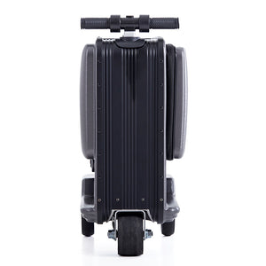 Best Scooter Suitcase - Black Rydebot Puledro - Big Storage Scooter Luggage