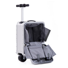 Best Scooter Suitcase - Silver Rydebot Puledro - Big Storage Scooter Luggage