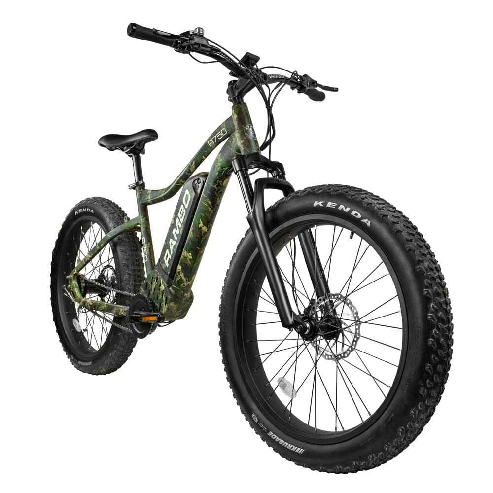Rambo Roamer Electric Hunting Bike 750W XC - Front Suspension - electric bike