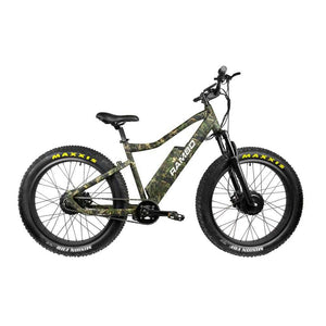 Rambo The Krusader Electric Hunting Bike 500W Dual Hub Motor - Front Suspension - electric bike