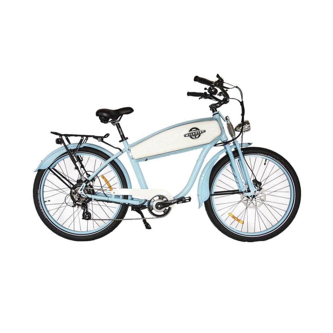 Electric Cruiser Bike Wildsyde Hunni Bunni 500W 36V (Pre-Order) - Baby Blue - Electric Bike $2695.95