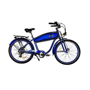 Electric Cruiser Bike Wildsyde Shadow 500W 36V (Pre-Order) - Deep Blue - Electric Bike $2695.95