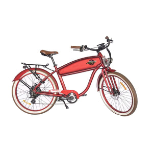 Electric Cruiser Bike Wildsyde Shadow 500W 36V (Pre-Order) - Red Gloss - Electric Bike $2695.95