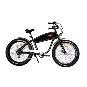 Electric Cruiser Bike Wildsyde The Beast 500W 36V (Pre-Order) - Black Gloss - Electric Bike $2999.95