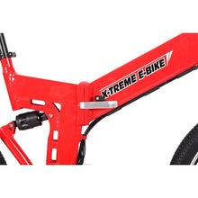 Electric Mountain Bike X-Treme X-Cursion Elite 300W Folding Ebike - Electric Bike $1007.00