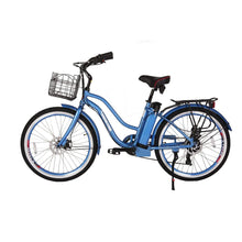 Electric Cruiser Bike X-Treme Malibu Elite 300W 36V - Baby Blue / 36V - Electric Bike $1295.00